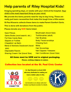 Riley KIDS Committee Flyer